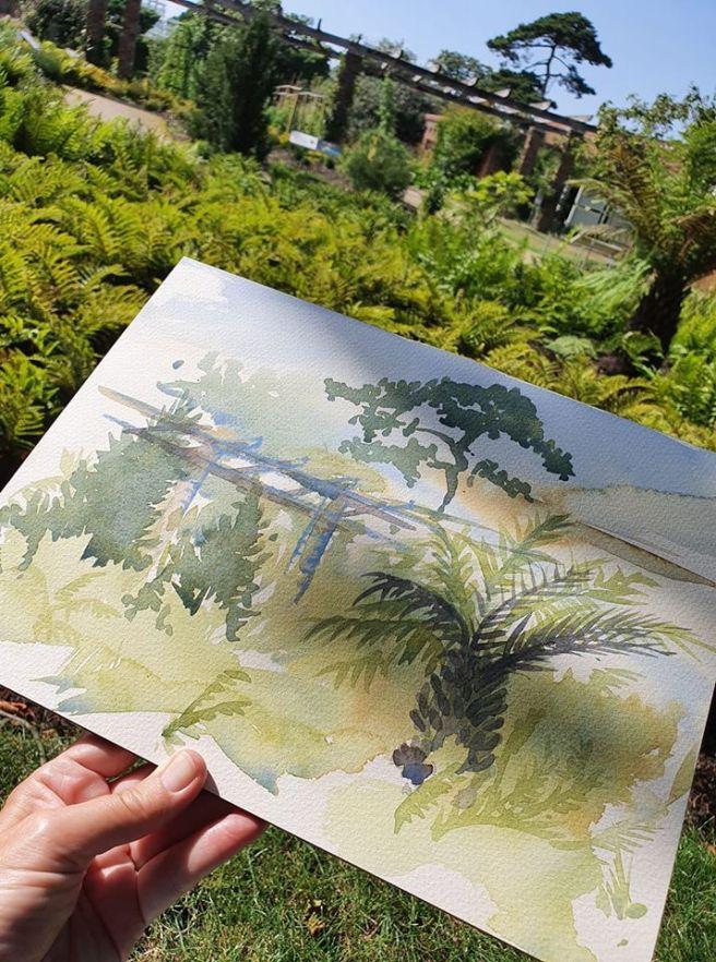 Kew day one